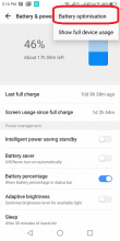 Click on Battery optimization